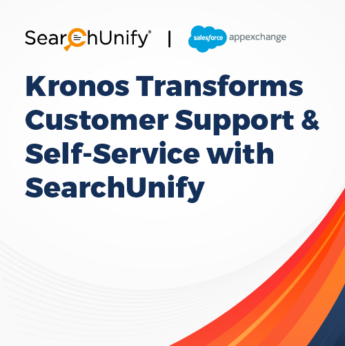 Kronos Transforms Customer Support & Self-Service with SearchUnify