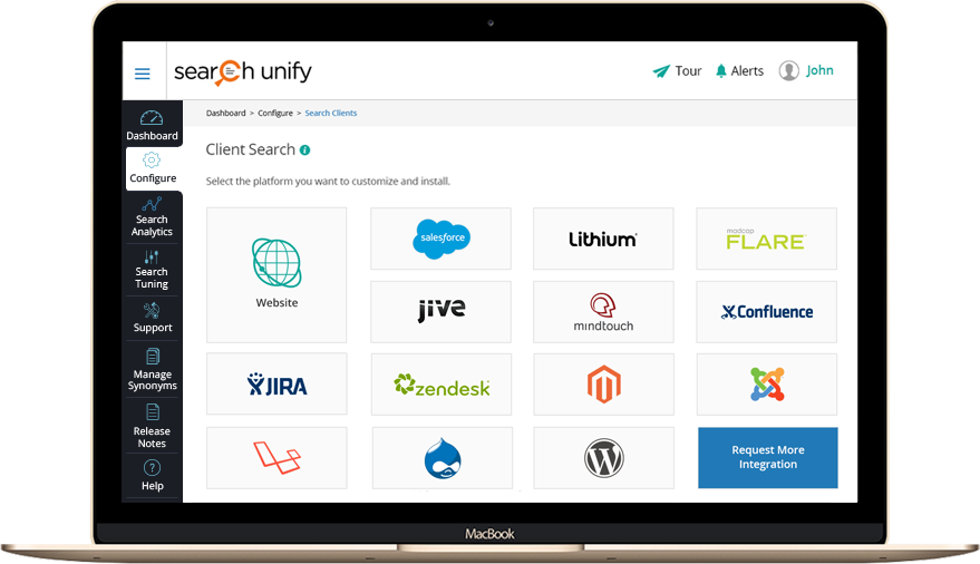 SearchUnify Dashboard