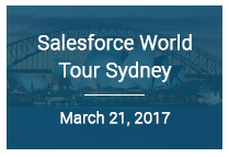 Salesforce World Tour Sydney
