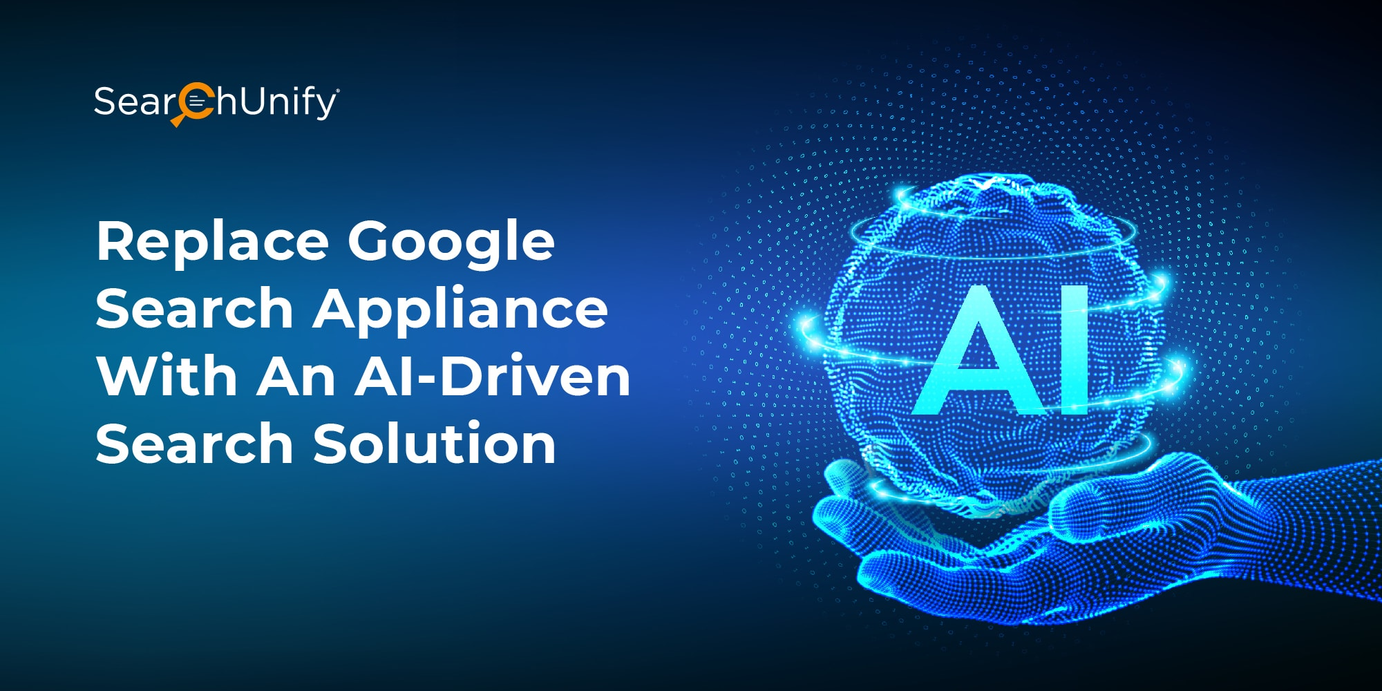 Replace Google Search Appliance With An AI-Driven Search Solution