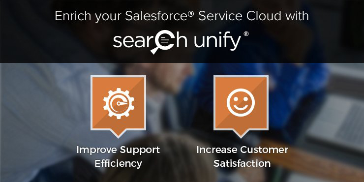 Enrich Salesforce Service Cloud with SearchUnify