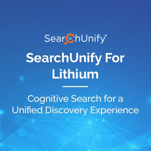 SearchUnify for Lithium
