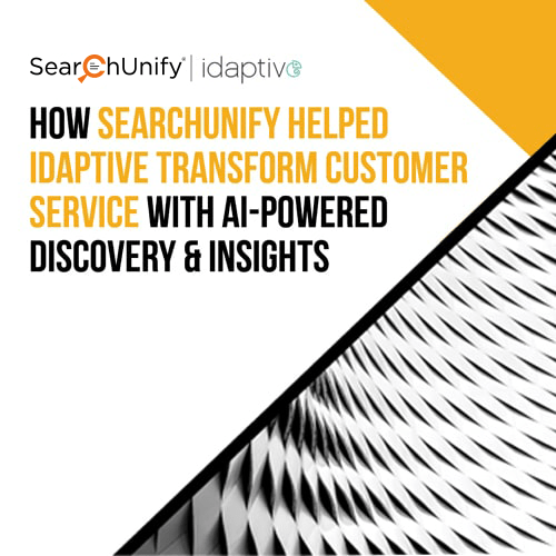 Idaptive Transforms Customer Service with AI-Powered Discovery & Insights