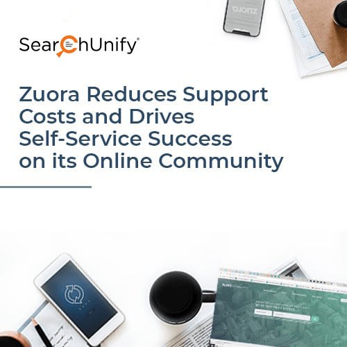 Zuora Redefines Discovery and Elevates Engagement on its Online Community with SearchUnify