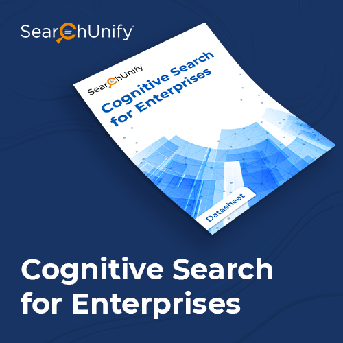 Cognitive Search for Enterprises