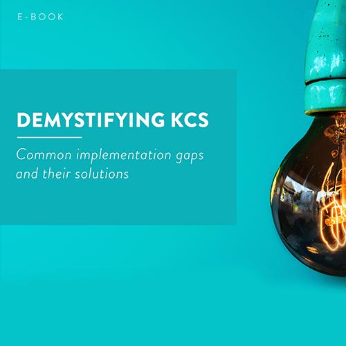 Demystifying KCS