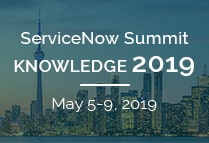 ServiceNow Summit | Knowledge 2019