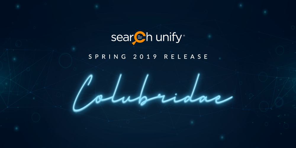 SearchUnify Announces Colubridae '19 to Expand Capabilitie[...]