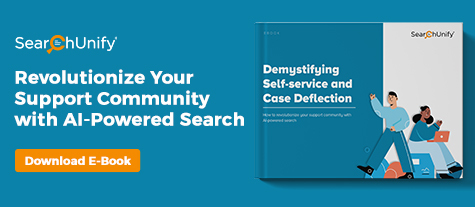 Demystifying Self-Service & Case Deflection for Support Communities