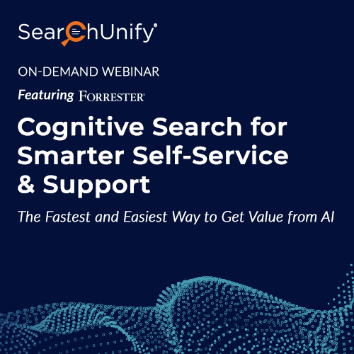 Cognitive Search for Smarter Self-Service & Support