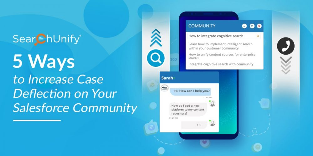 5 Ways to Increase Case Deflection on Your Salesforce Commun...