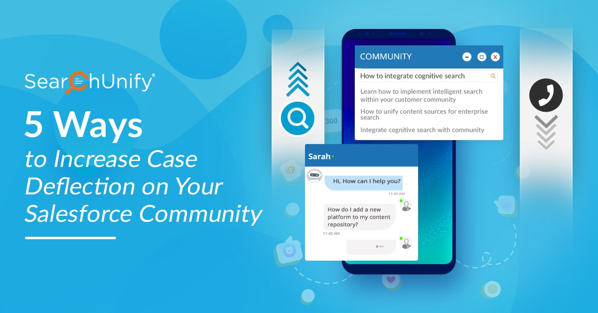 5 Ways to Increase Case Deflection on Your Salesforce Community