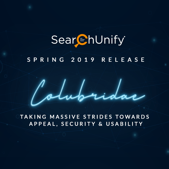 SearchUnify Announces Colubridae '19 to Expand Capabilities & Go Big on Function