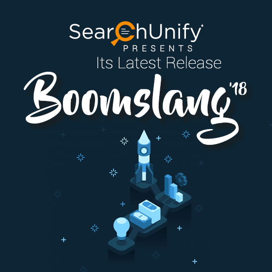 SearchUnify Deploys Boomslang '18 to Pave Way for More Cognitive Insights
