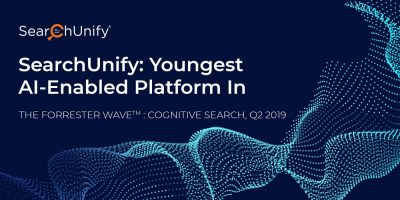 Young & Proud: SearchUnify Is the Youngest Vendor to Be Evaluated in The Forrester Wave™: Cognitive Search, Q2 2019