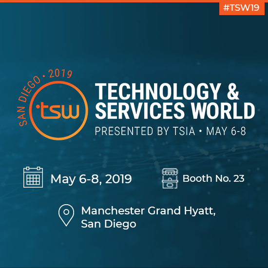 SearchUnify to Attend TSW San Diego 2019 & Lead a Session on Enhancing Support