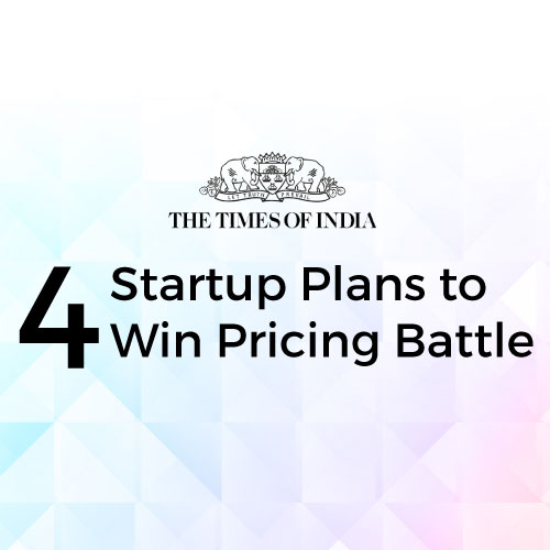 4 Startup Plans to Win Pricing Battle
