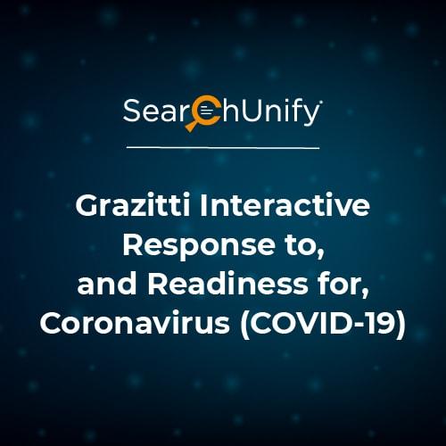 Grazitti Interactive Response to, and Readiness for, Coronavirus (COVID-19)