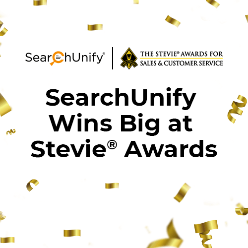 SearchUnify Wins Big at Stevie® Awards