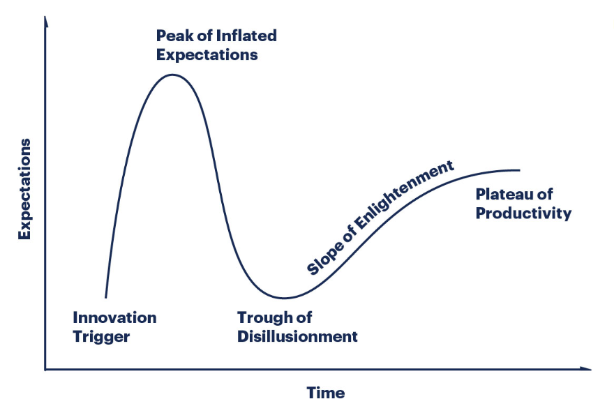 To Conquer The Peak of Inflated Expectations