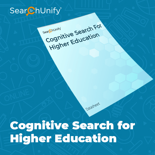Cognitive Search For Higher Education