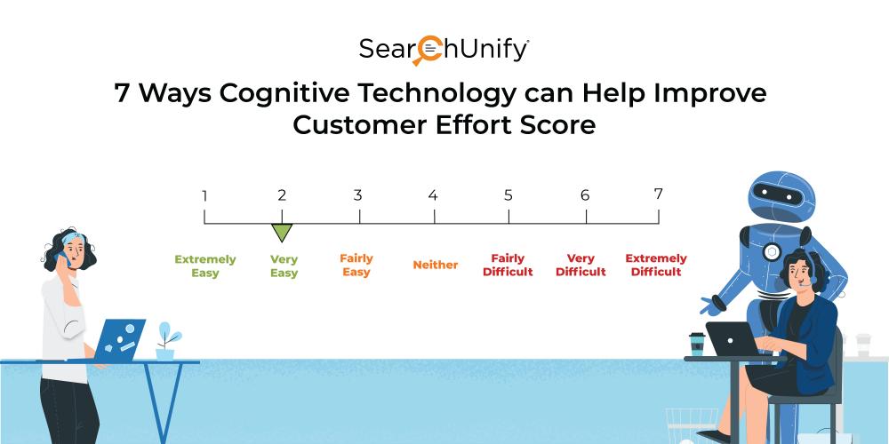 7 Ways Cognitive Technology can Help Improve Customer Effort Score