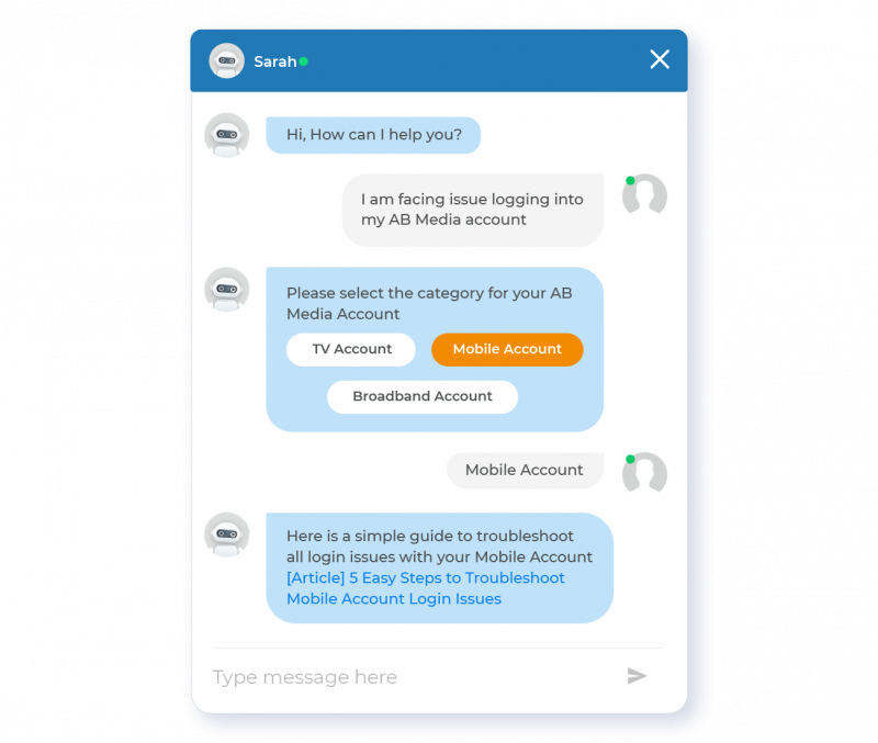 Improve Site Engagement with a Search-powered Chatbot