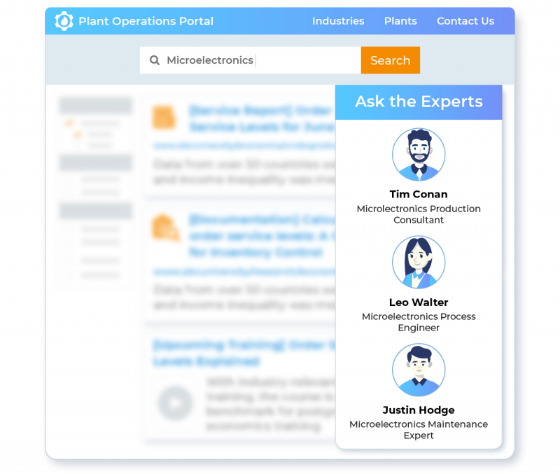 Trace a Network of Experts