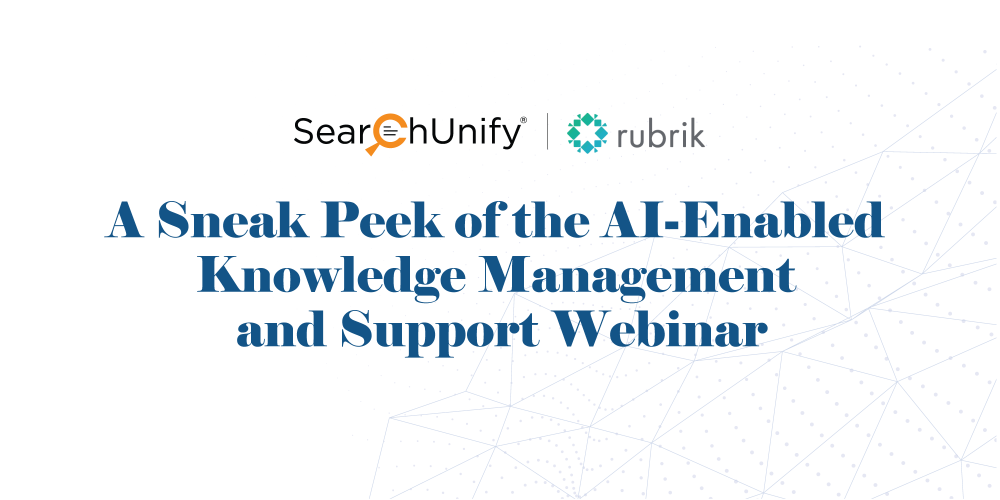 A Sneak Peek of the AI-Enabled Knowledge Management and Supp...