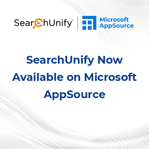 SearchUnify Now Available on Microsoft AppSource