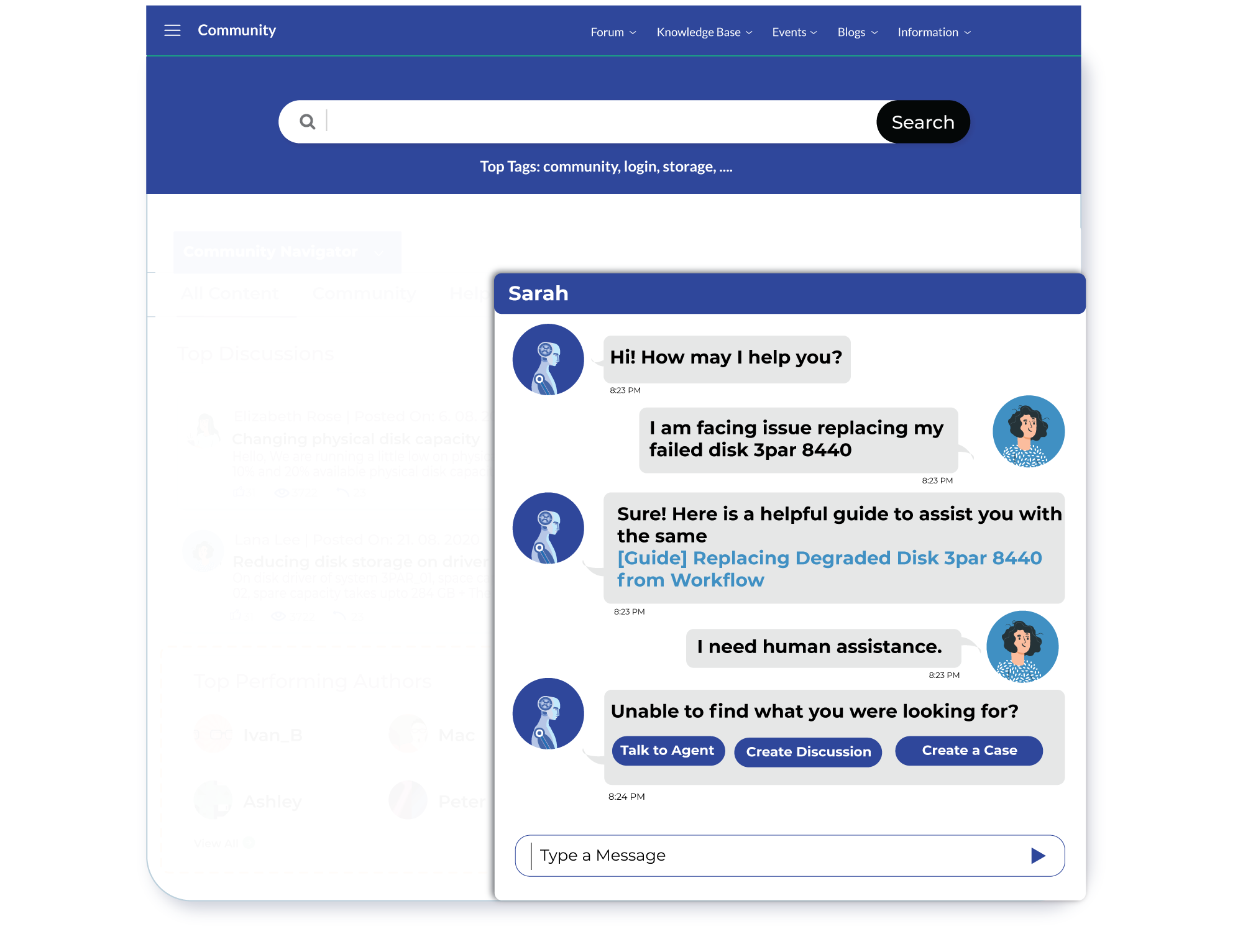 Augmented Chatbot Interactions