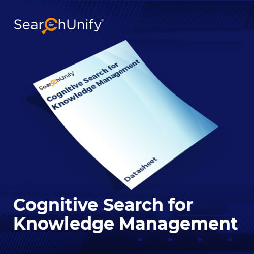 Cognitive Search for Knowledge Management