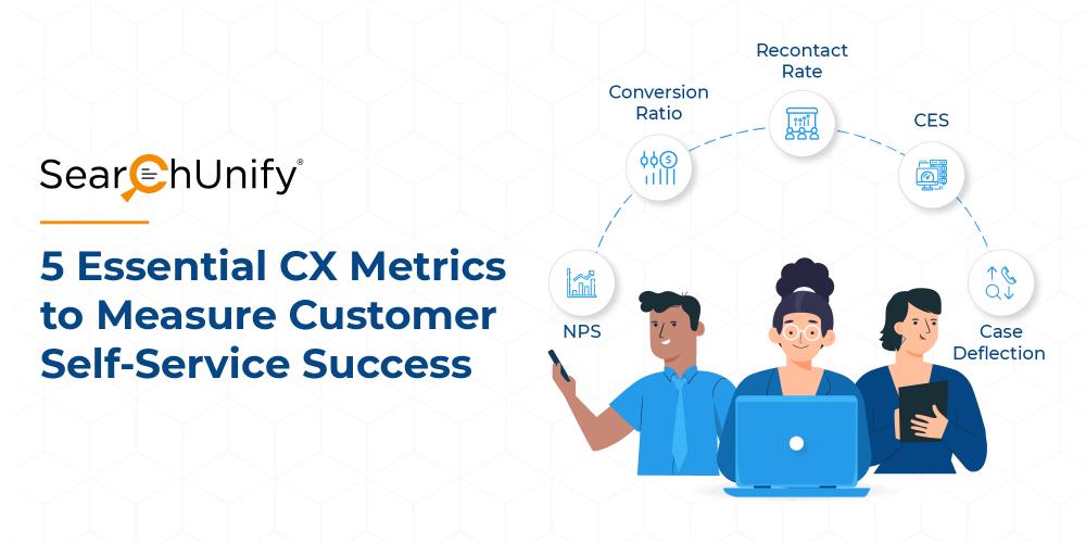 5 Essential CX Metrics to Measure Customer Self-Service Succ...
