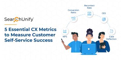 5 Essential CX Metrics to Measure Customer Self-Service Success