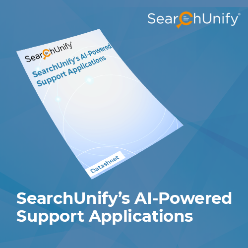 SearchUnify's AI-Powered Support Applications