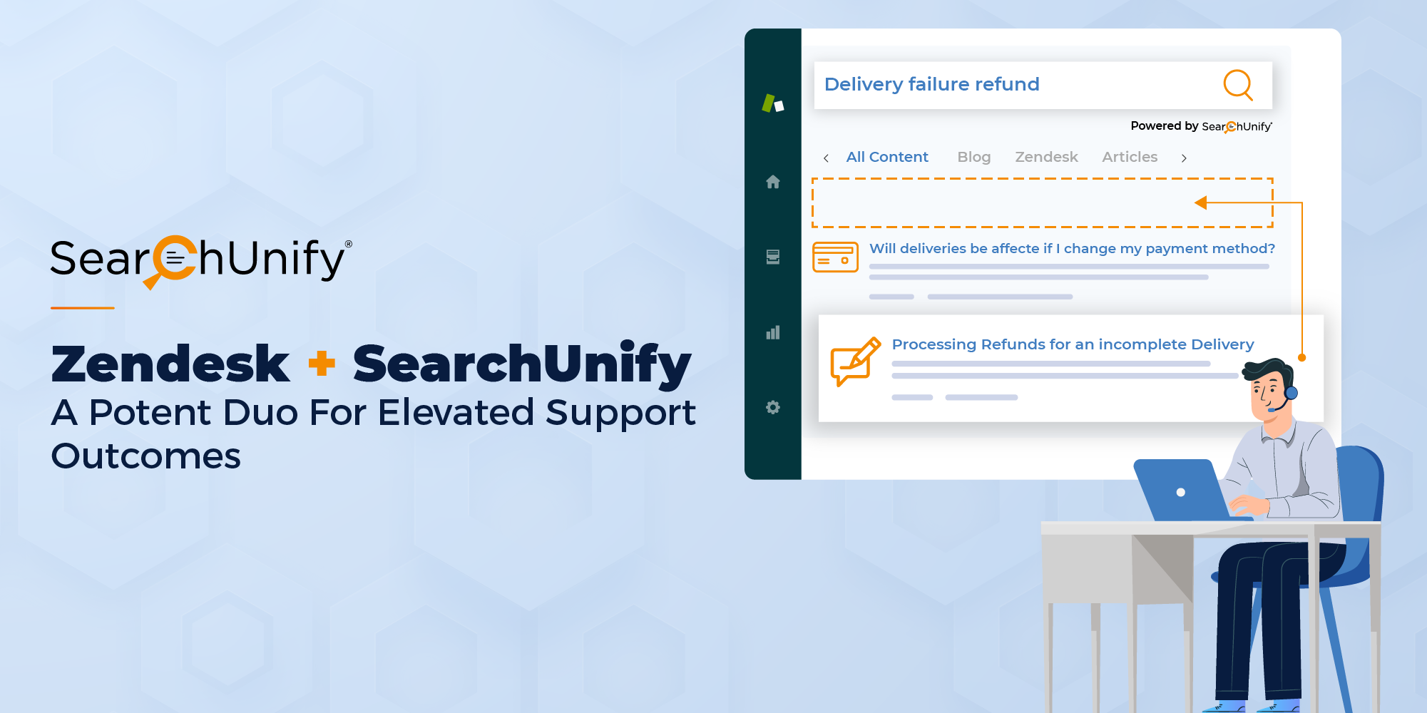 Zendesk + SearchUnify: A Potent Duo For Elevated Support Outcomes