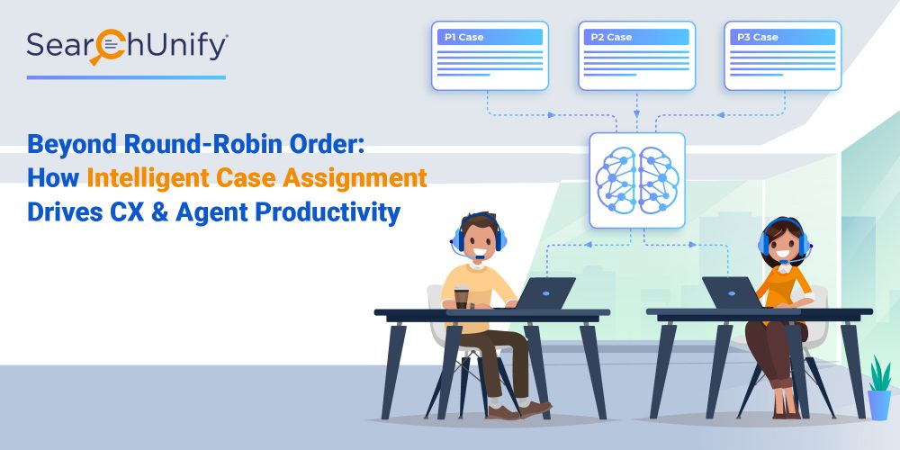 Beyond Round-Robin Order: How Intelligent Case Assignment Drives CX & Agent Productivity