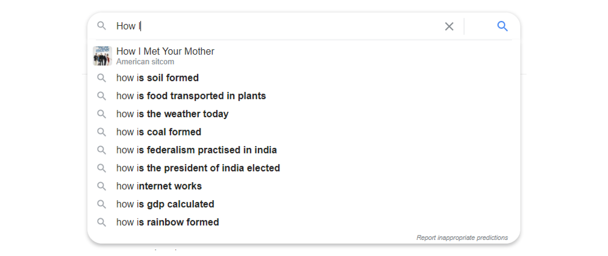 Autocomplete and Suggestion Management