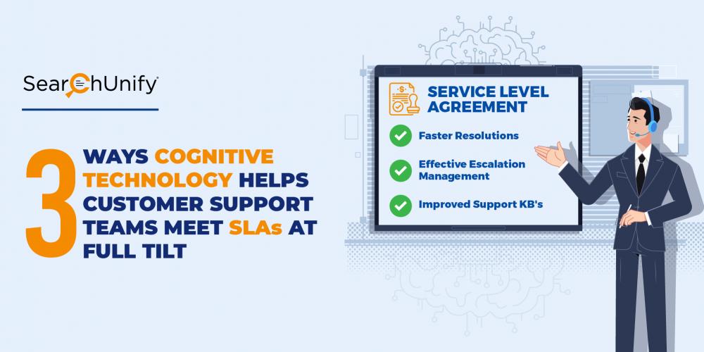 3 Ways Cognitive Technology Helps Customer Support Teams Meet SLAs at Full Tilt