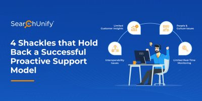 4 Shackles that Hold Back a Successful Proactive Support Model