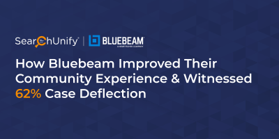 How Bluebeam Improved Their Community Experience & Witnessed 62% Case Deflection