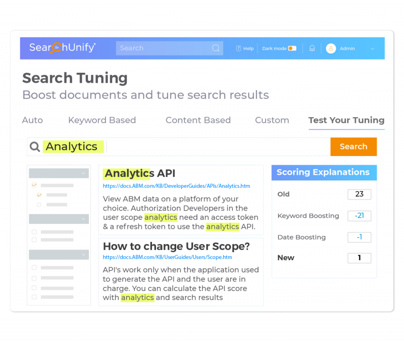 Measure the Impact of Search Tuning