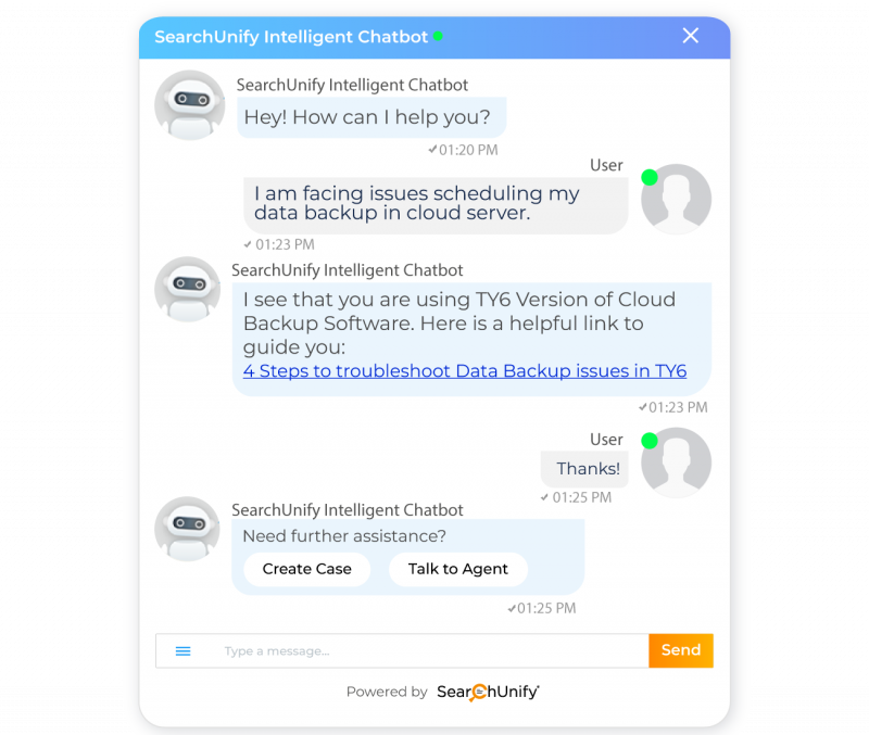 Step Up the Self-Service Game With AI‑Based Chatbots