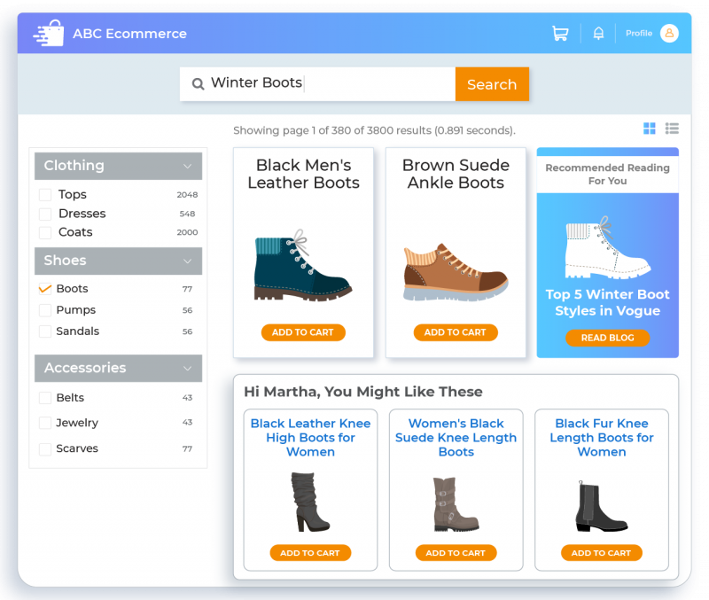Lower Bounce Rate by Boosting Personalization
