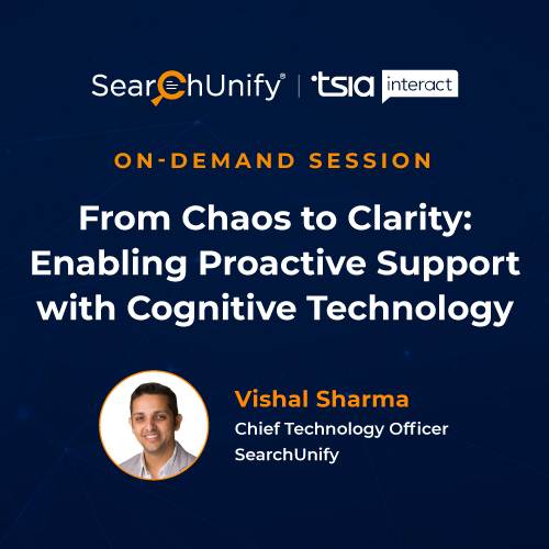 From Chaos to Clarity: Enabling Proactive Support with Cognitive Technology