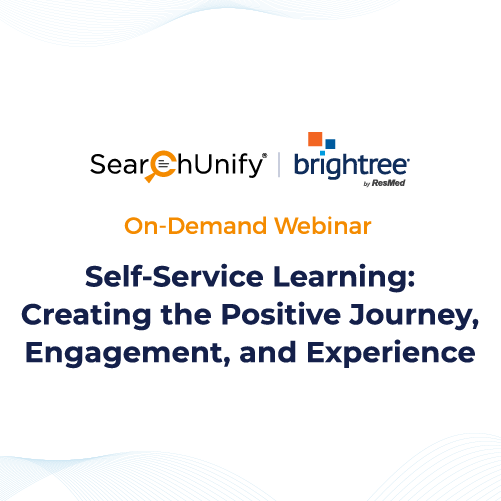 Self-Service Learning: Creating the Positive Journey, Engagement, and Experience