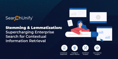 Stemming & Lemmatization: Supercharging Enterprise Search for Contextual Information Retrieval