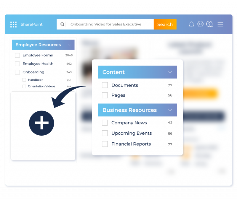 Boost Findability with Intelligent UI