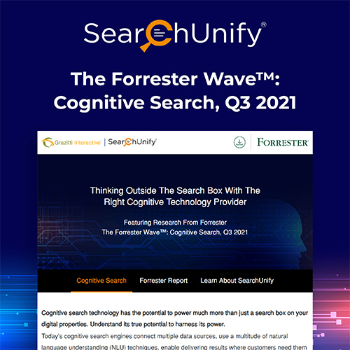 Forrester Wave™: Cognitive Search, Q3 2021