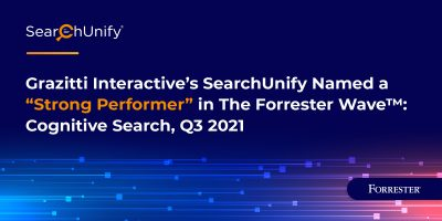 Grazitti Interactive's SearchUnify Named a Strong Performer in The Forrester Wave™: Cognitive Search, Q3 2021